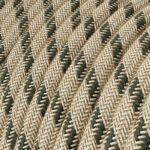 Algodón Antracita Stripes CLRD54